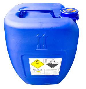 Hydro peroxid, H2O2 50%, Korea, 35kg/can
