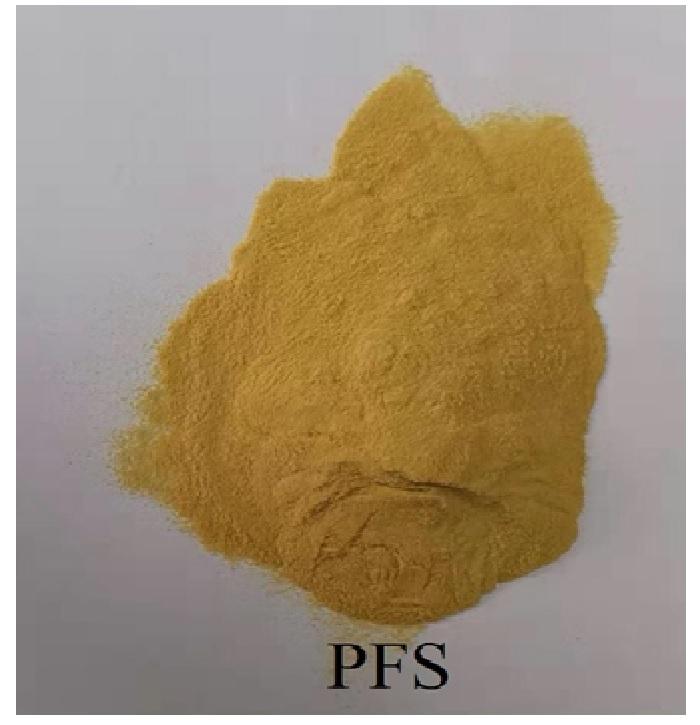 Polyme Ferric Sulphate (PFS), Fe2(OH)n(SO4)3- n/2m, Trung Quốc, 25kg/bao